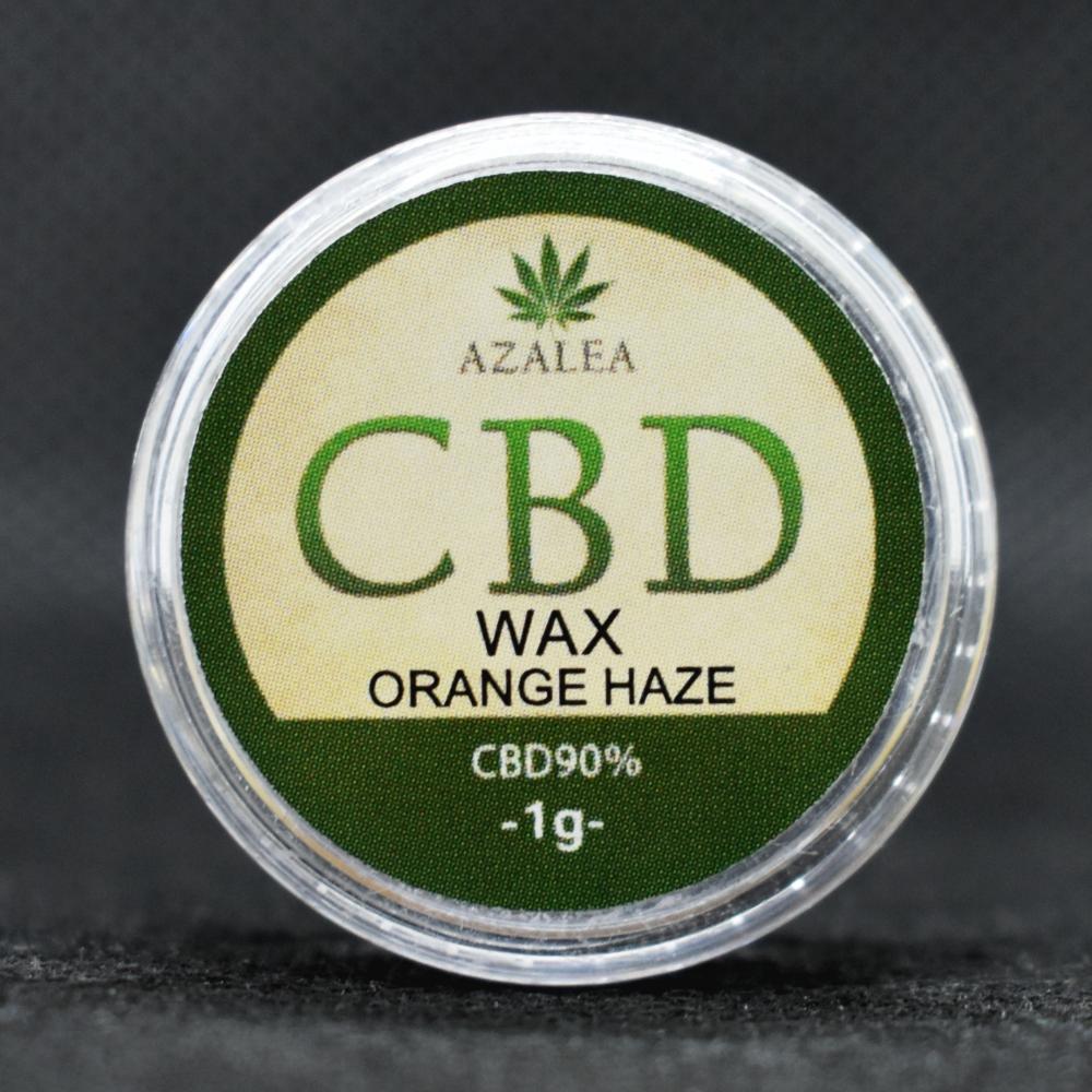 AZALEA高濃度CBD WAX 90% オレンジヘイズ