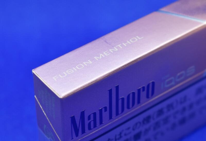 アイコス・マールボロ・フュージョンメンソール,Marlboro FUSION MENTHOL