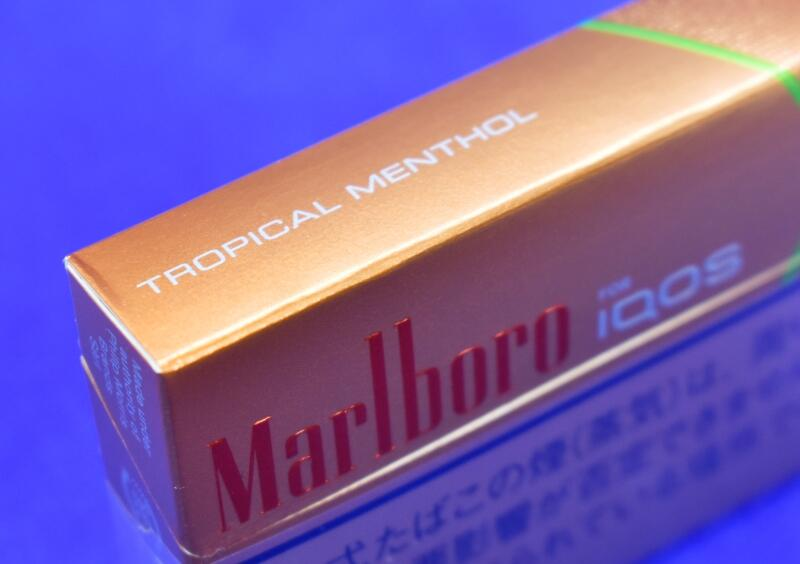 アイコス・マールボロ・トロピカルメンソール,Marlboro TROPICAL MENTHOL