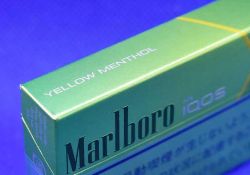 アイコス・マールボロ・イエローメンソール,Marlboro YELLOW MENTHOL