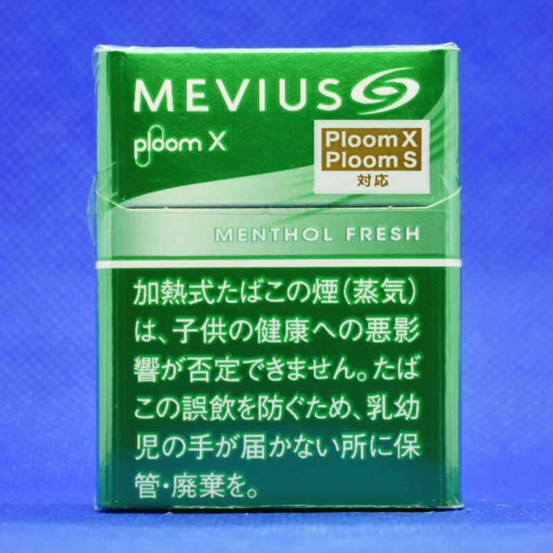 プルームエックス・メビウス・メンソール・フレッシュ(Ploom X MEVIUS MENTHOL FRESH)