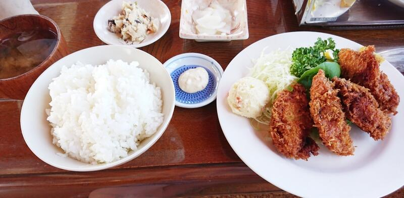 いさりび食堂,カキフライ定食