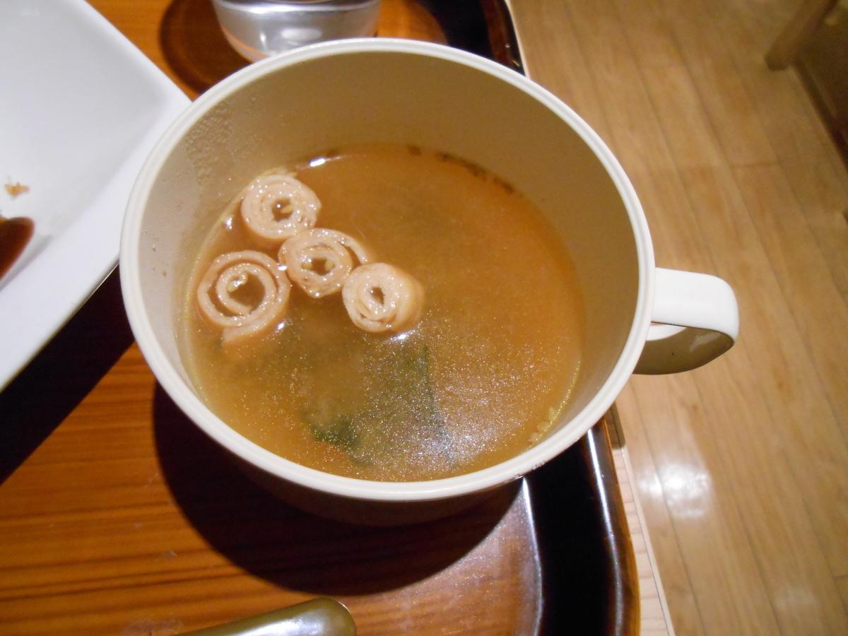 お味噌汁 うしくんの加古川かつめし亭