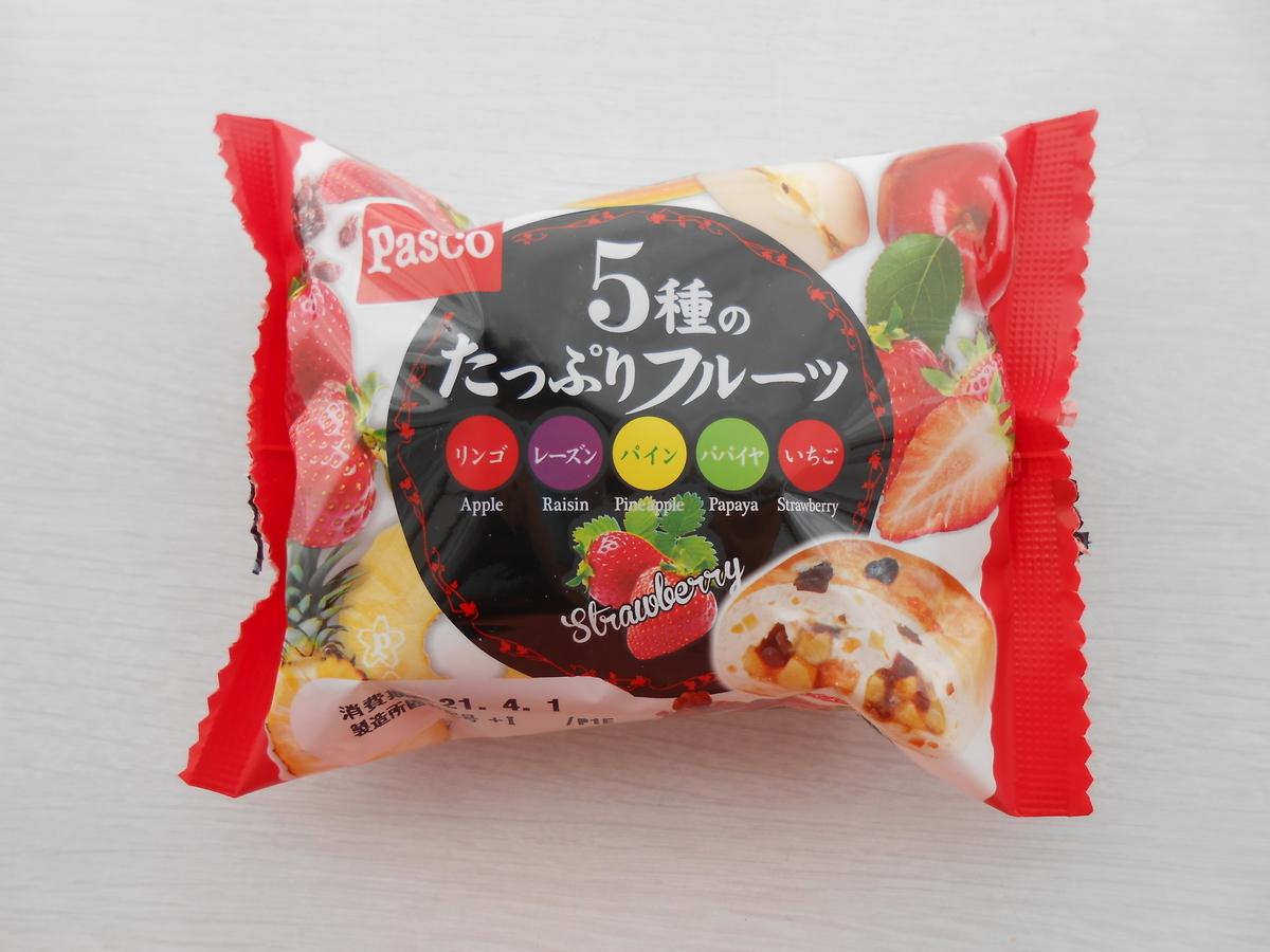 パスコ 5種のたっぷりフルーツ