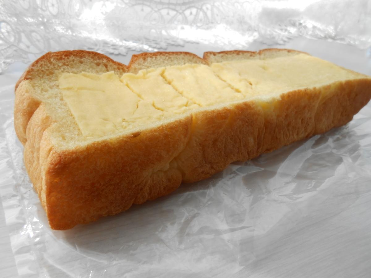 ちぎれるシュガーマーガリンのパン ファミマ 開封後 側面