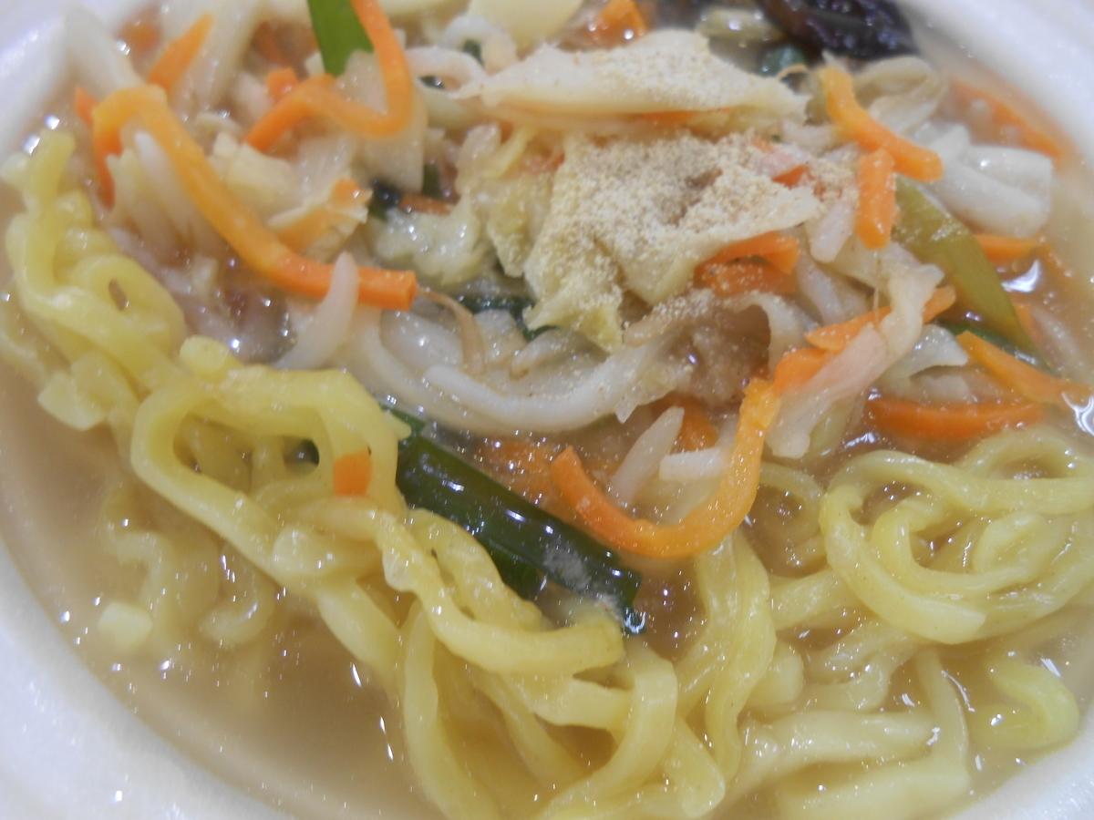 コク旨野菜タンメン セブンイレブン 2