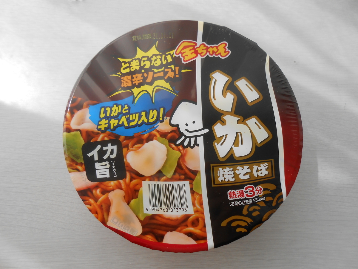 徳島製粉 金ちゃんいか焼きそば