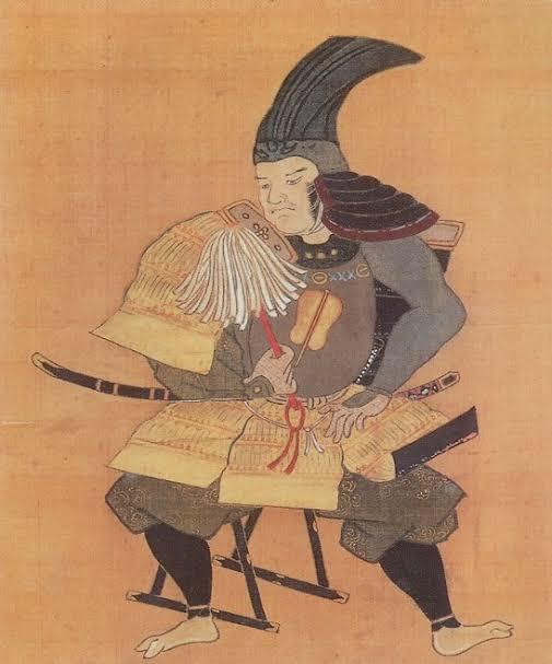 お寺に伝わる竹中重治といわれる肖像画(Wikipediaから)
