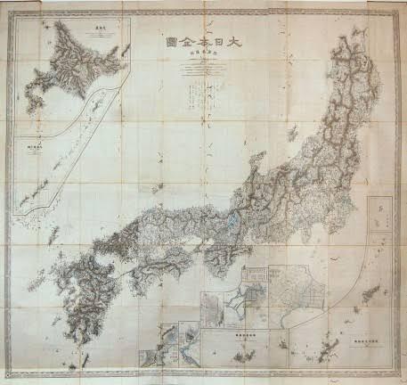 伊能忠敬の製作した日本地図