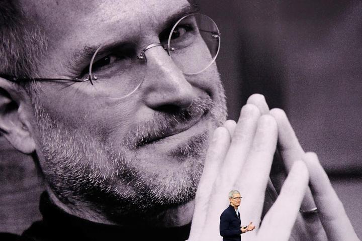 iPhoneの生みの親 スティーブ・ジョブズ