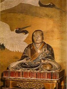 日野富子の座像(京都市上京区 宝鏡寺阿弥陀堂)