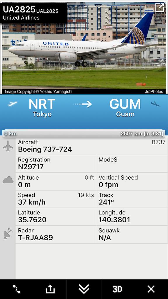 UA2825便