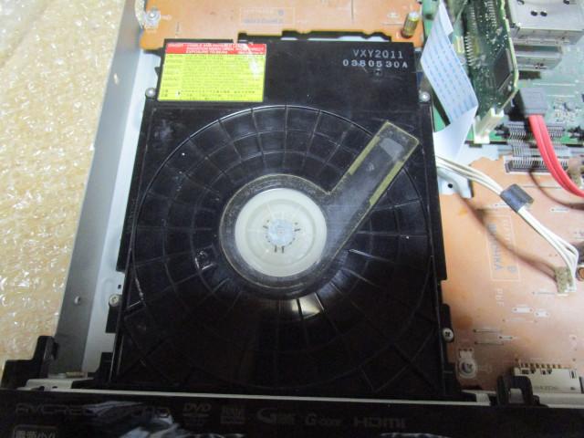 光学ドライブを VXY2011 に換装した後の様子