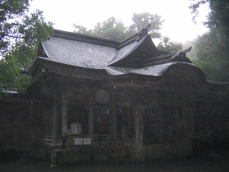 高千穂町天岩戸神社西宮神楽殿