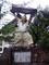 高千穂町高千穂神社西宮手力雄命戸取の像