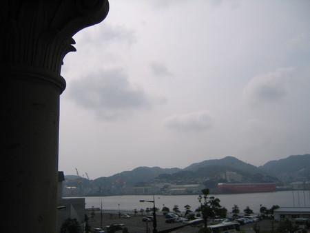 旧香港上海銀行長崎支店ビルから長崎港をのぞむ