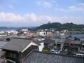 [長崎]平戸市内遠景  平戸城をのぞむ