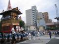 [祇園祭]南観音山 新町辻廻し