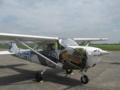 米軍セスナ機