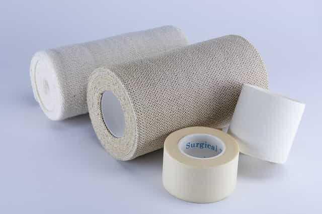 治療用紙テープ