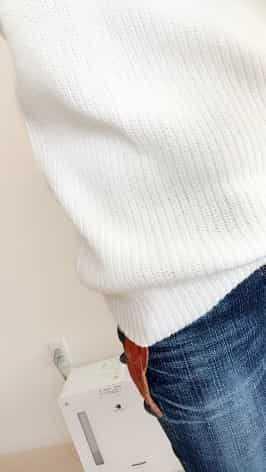セーターの裾