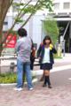 2014年05月01日・秋葉原駅昭和通口・援助交際の話をする女子高生