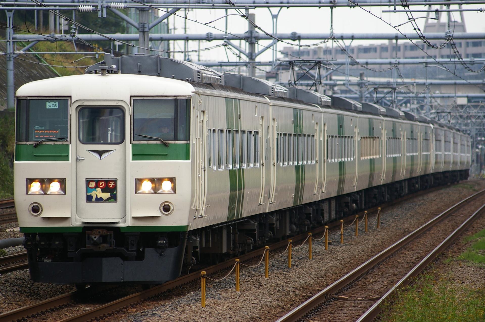 ウソ電 185系電車 貫通型