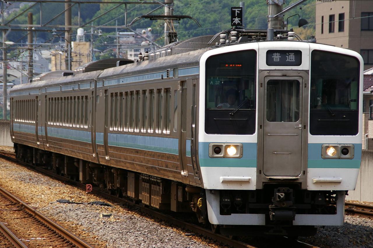 ウソ電 国鉄急行型電車 271系 長野色