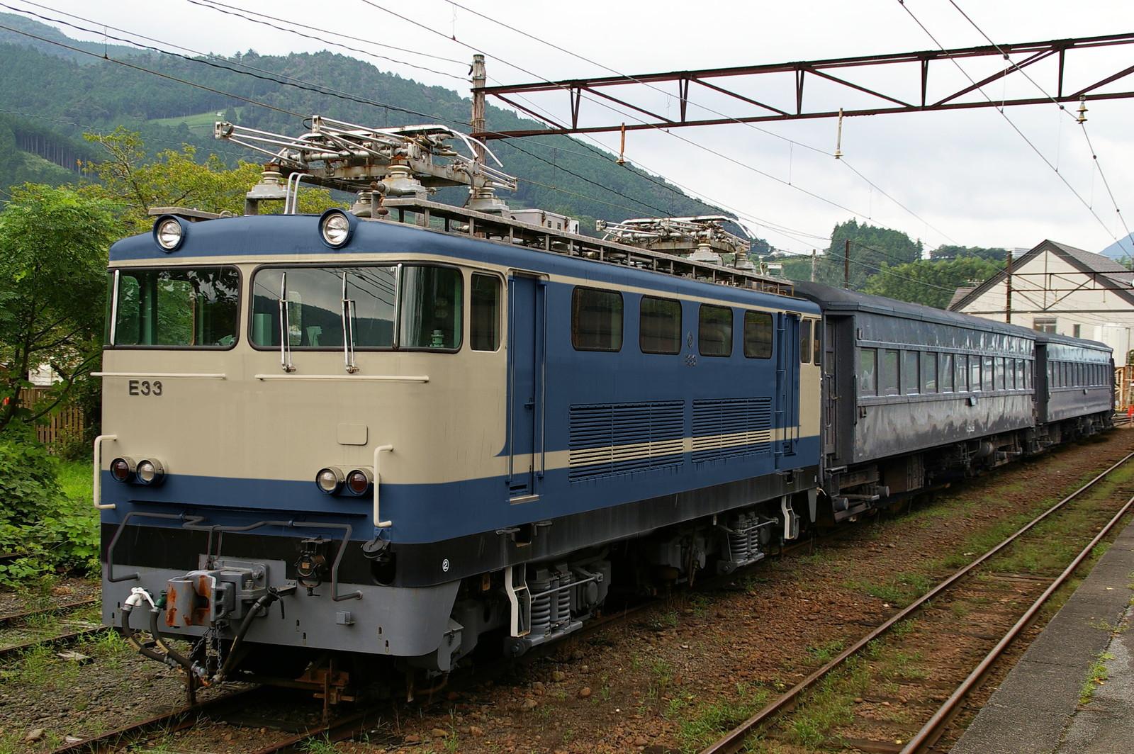 ウソ電 大井川鐵道E31形 国鉄色