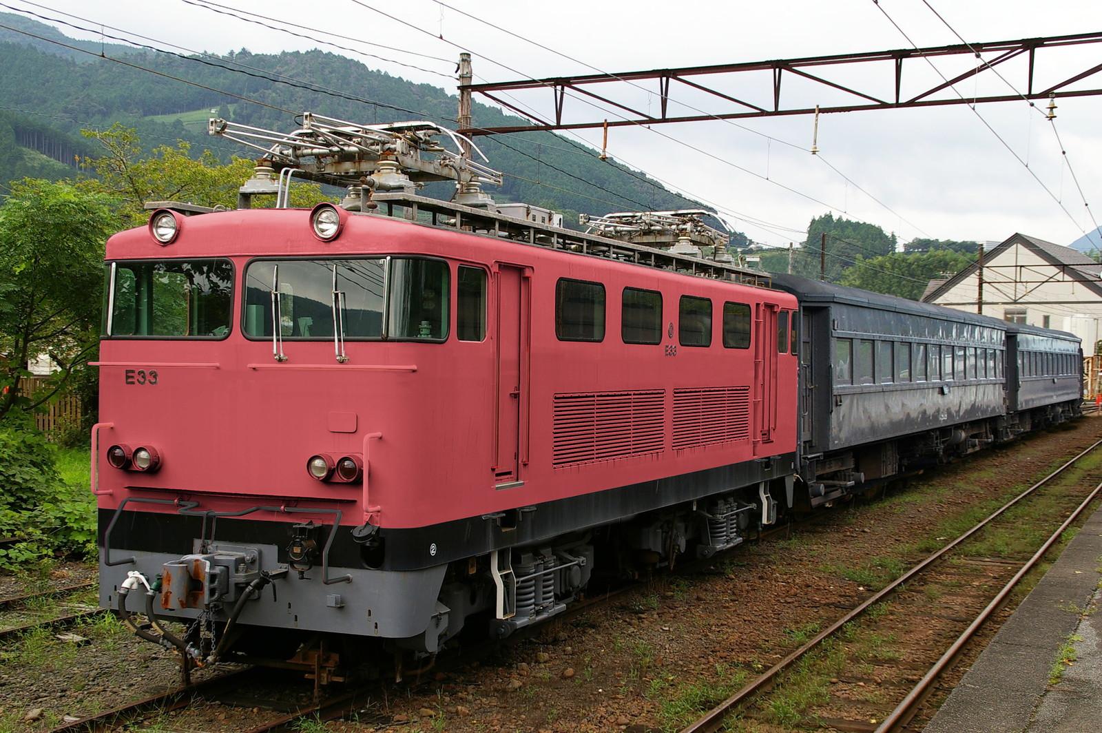 ウソ電 大井川鐵道E31形 EF81ふう ローズピンク