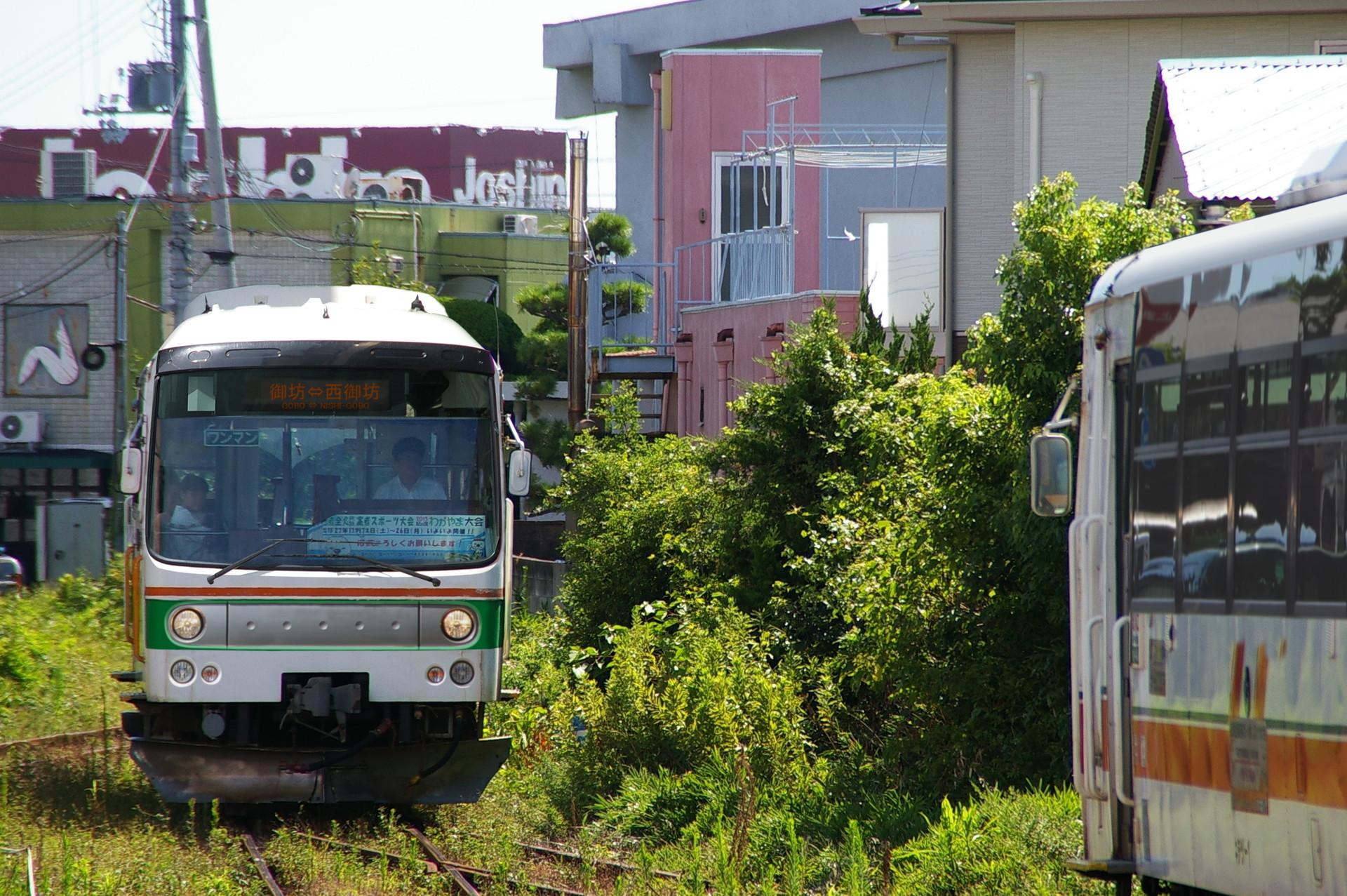 ウソ電 紀州鉄道レールバス ポンチョタイプ