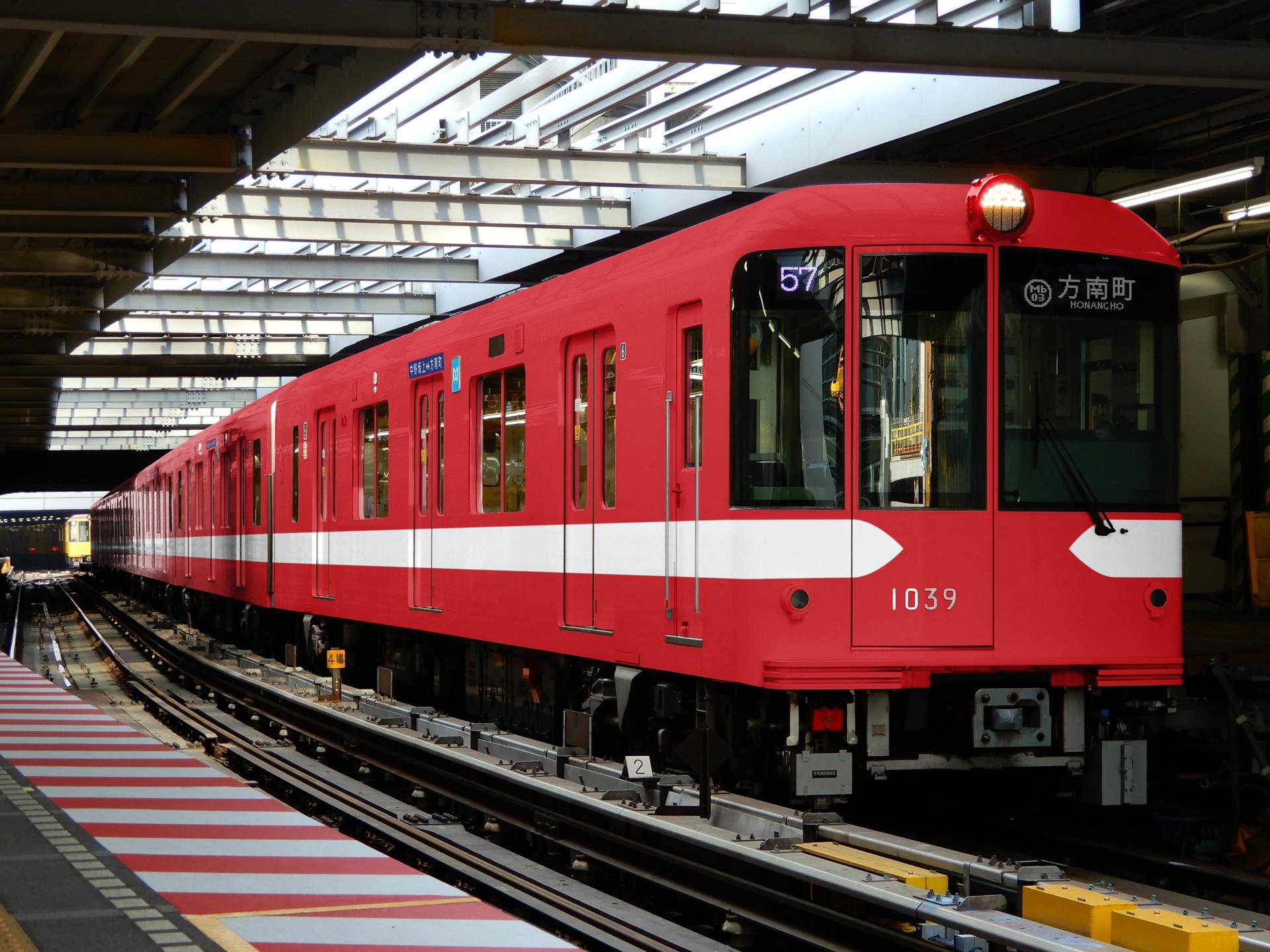 東京メトロ1000系の丸の内線ウソ電