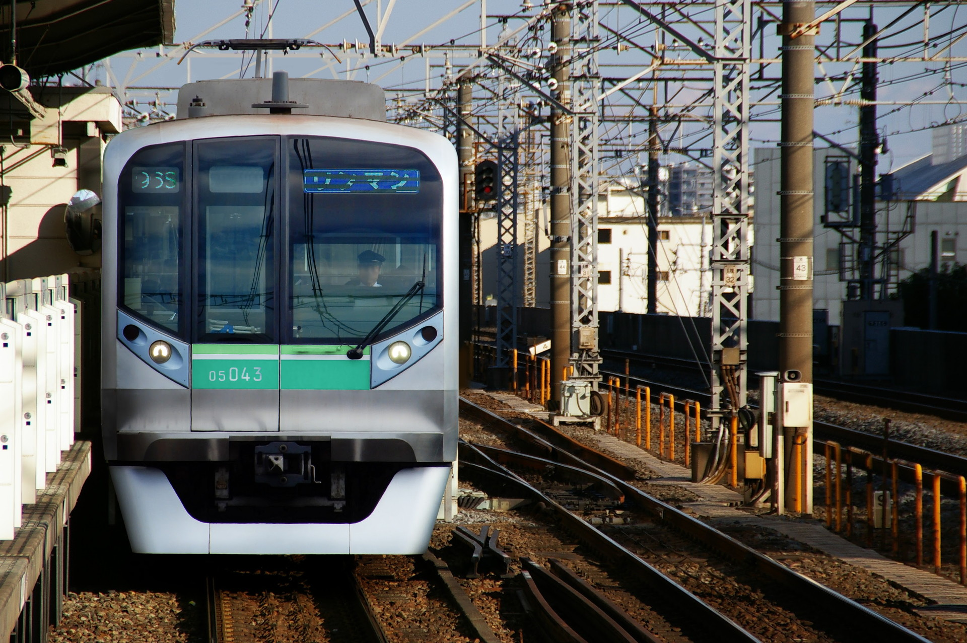 東京メトロ北綾瀬支線のN05系ウソ電