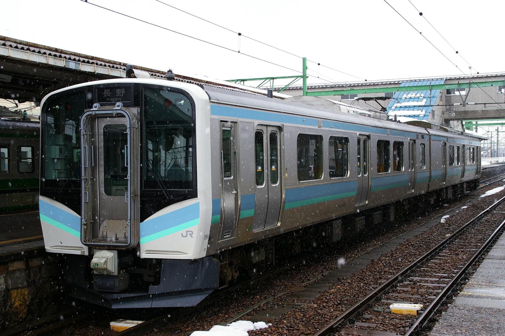E129系長野色のウソ電