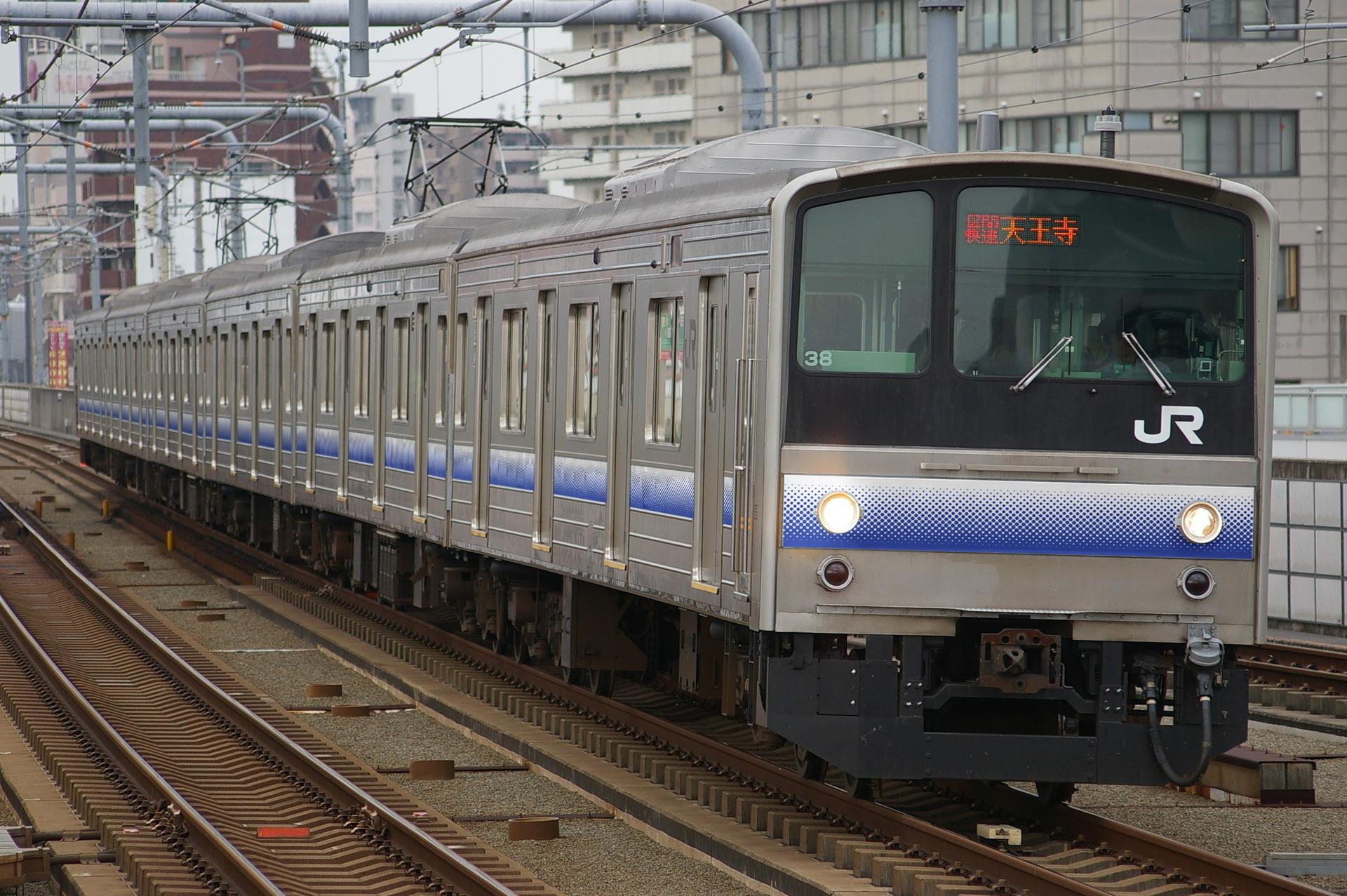 阪和線205系のウソ電