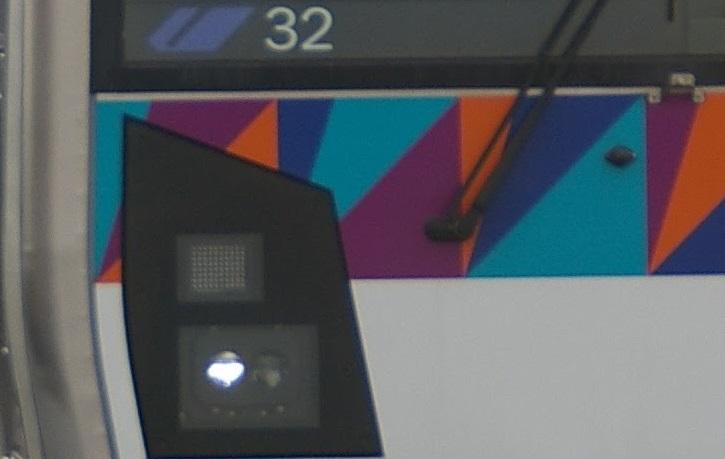 横浜シーサイドライン2000型 第32編成 前照灯