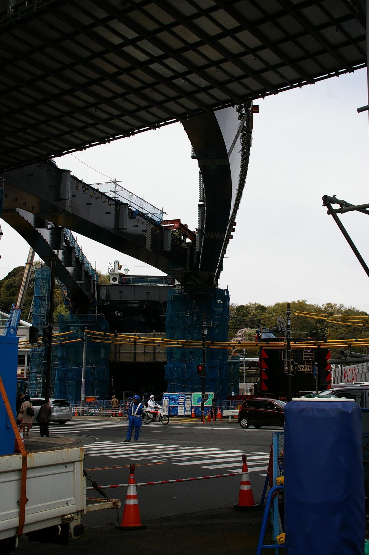 シーサイドラインの延伸工事