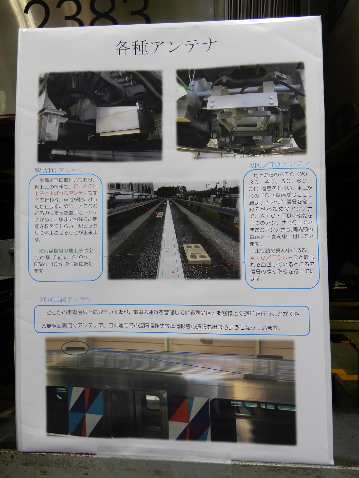 列車無線アンテナ