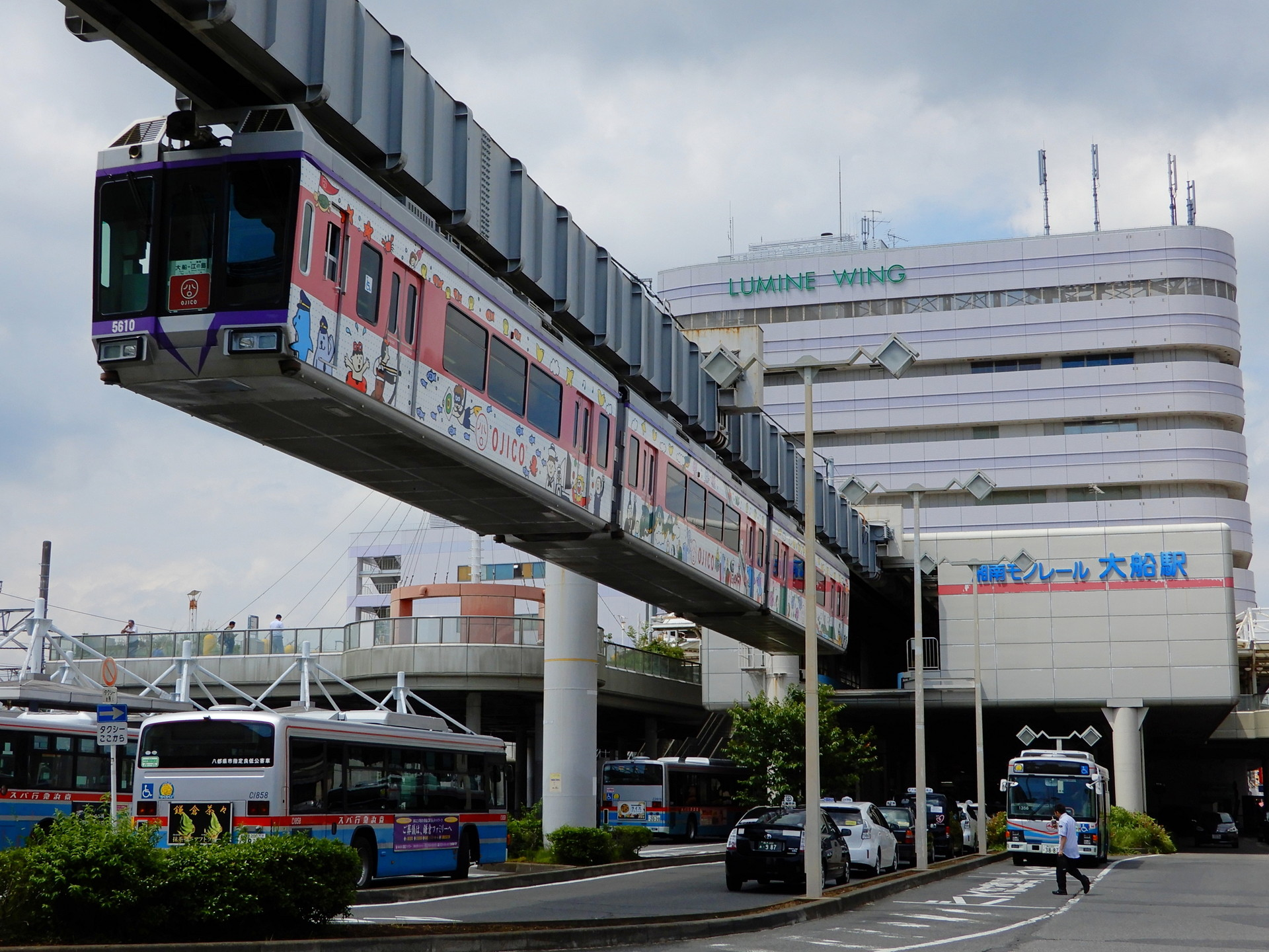 湘南モノレール5000系のOJICOトレイン
