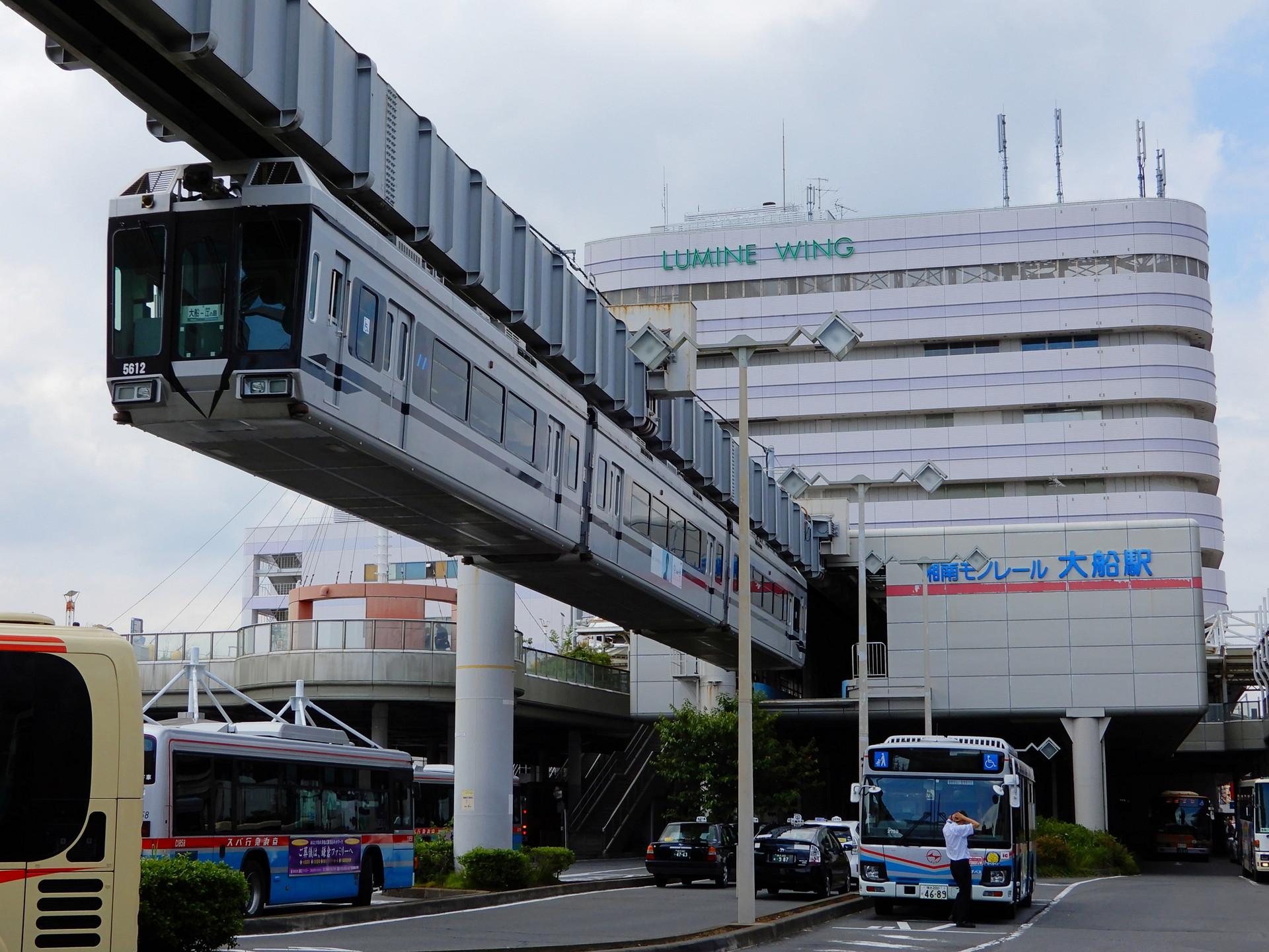 湘南モノレール5000系5611F