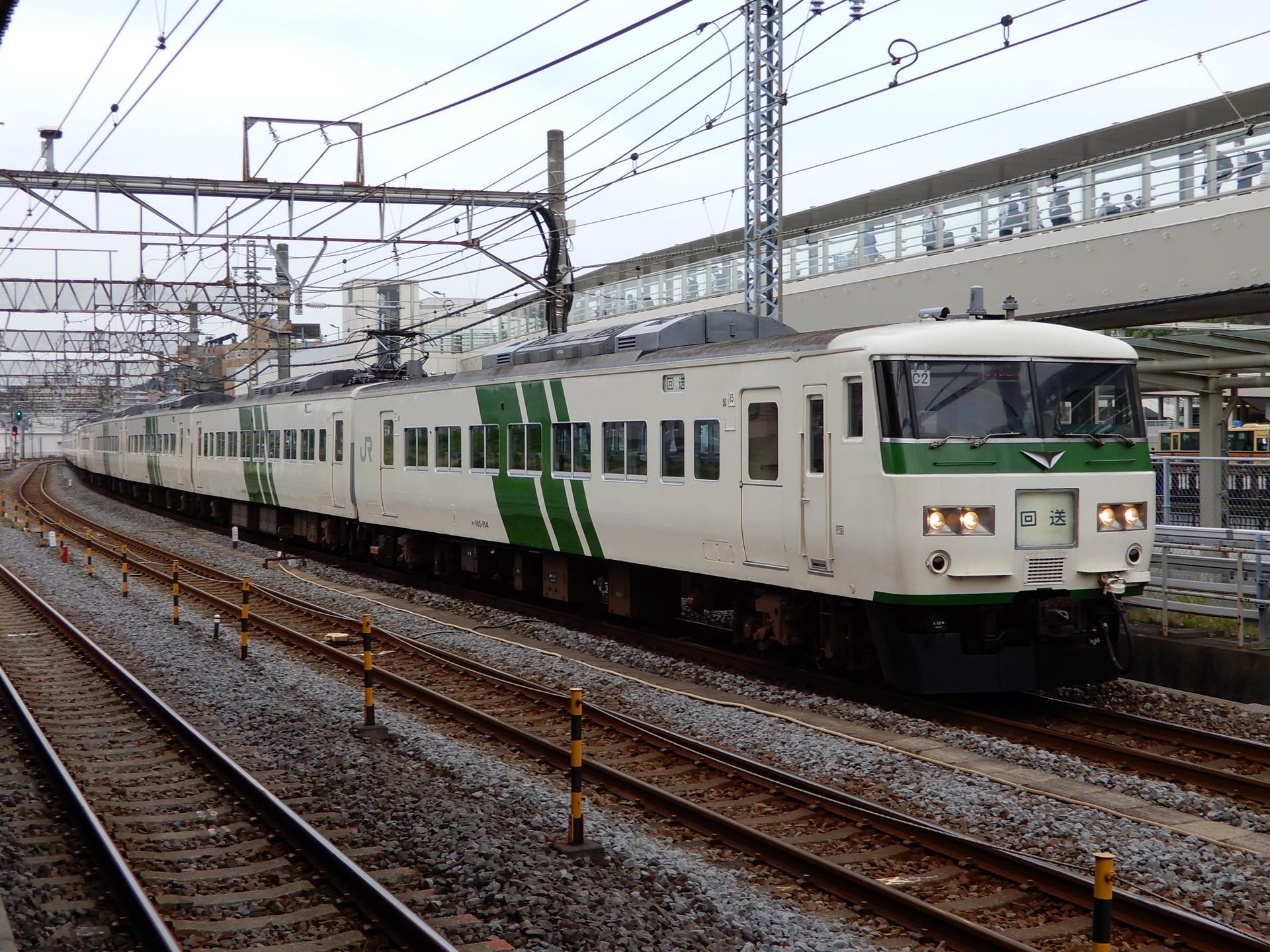 185系の東海道線回送