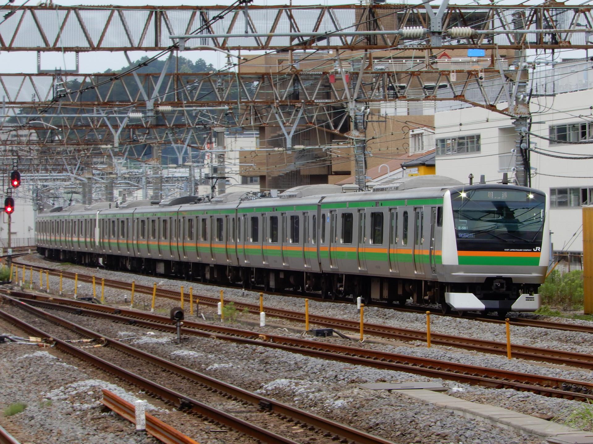 上野東京ラインE233系