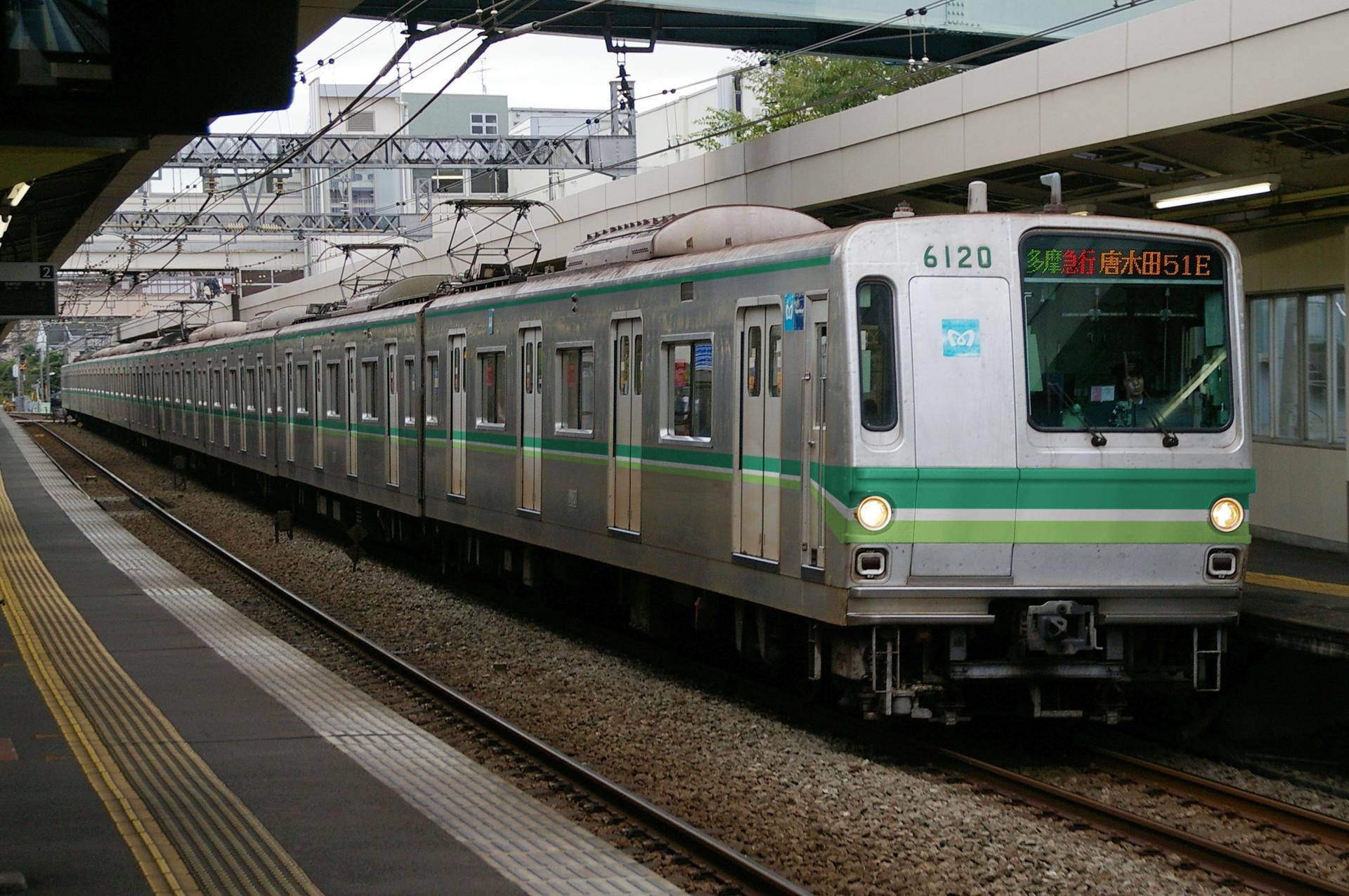 東京メトロ6000系の新塗装ウソ電