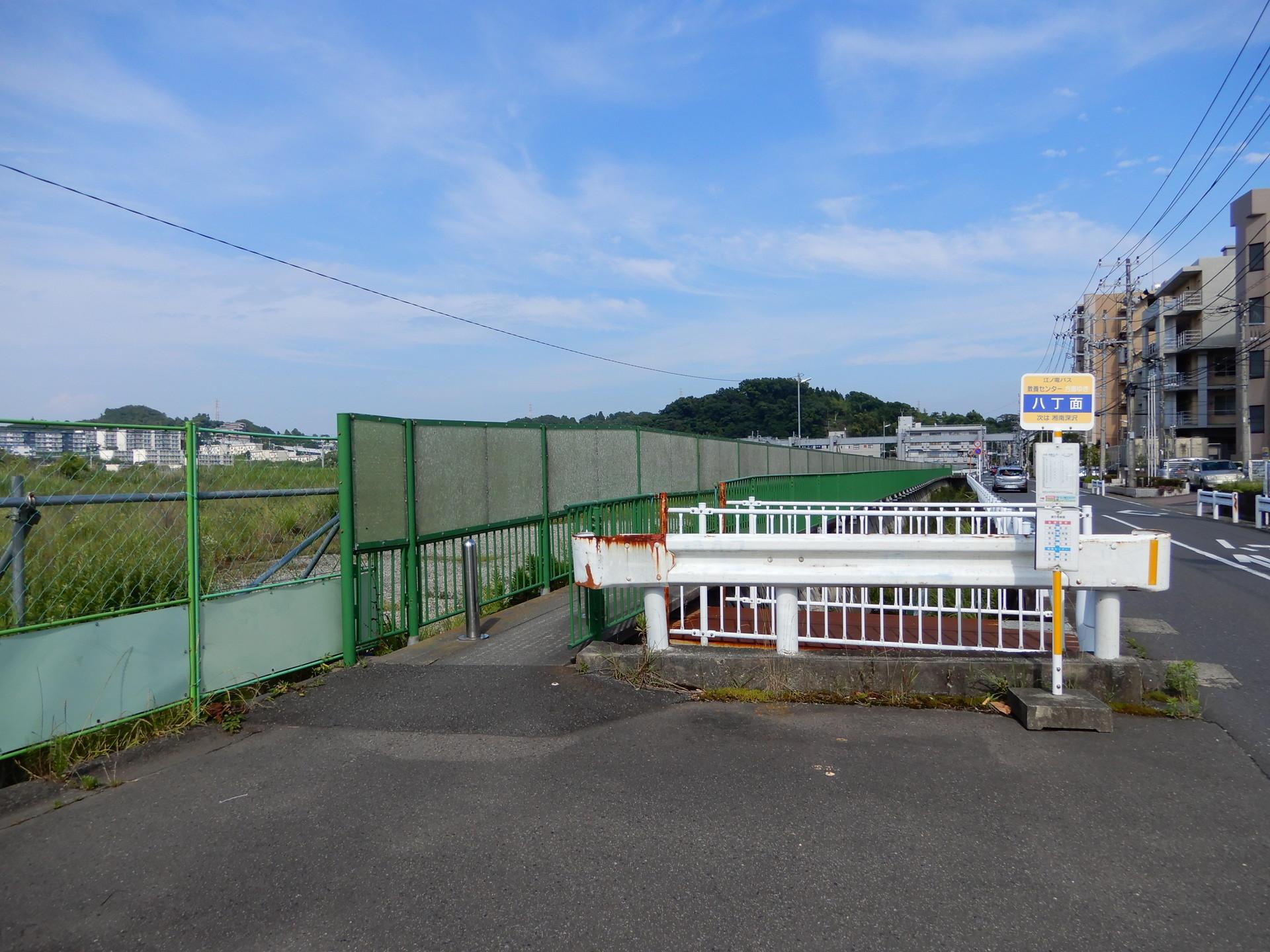 江ノ電バス八丁面バス停