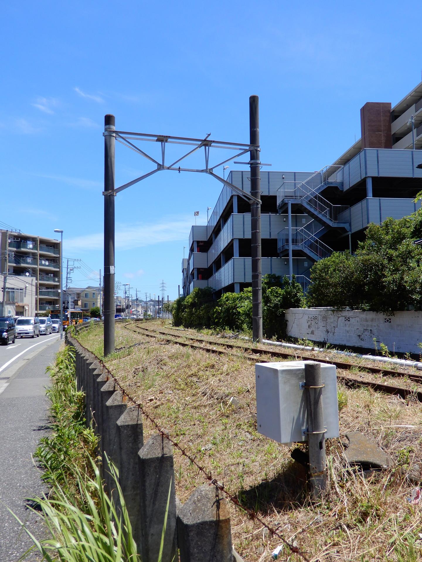 鎌倉武道館東付近の機器箱