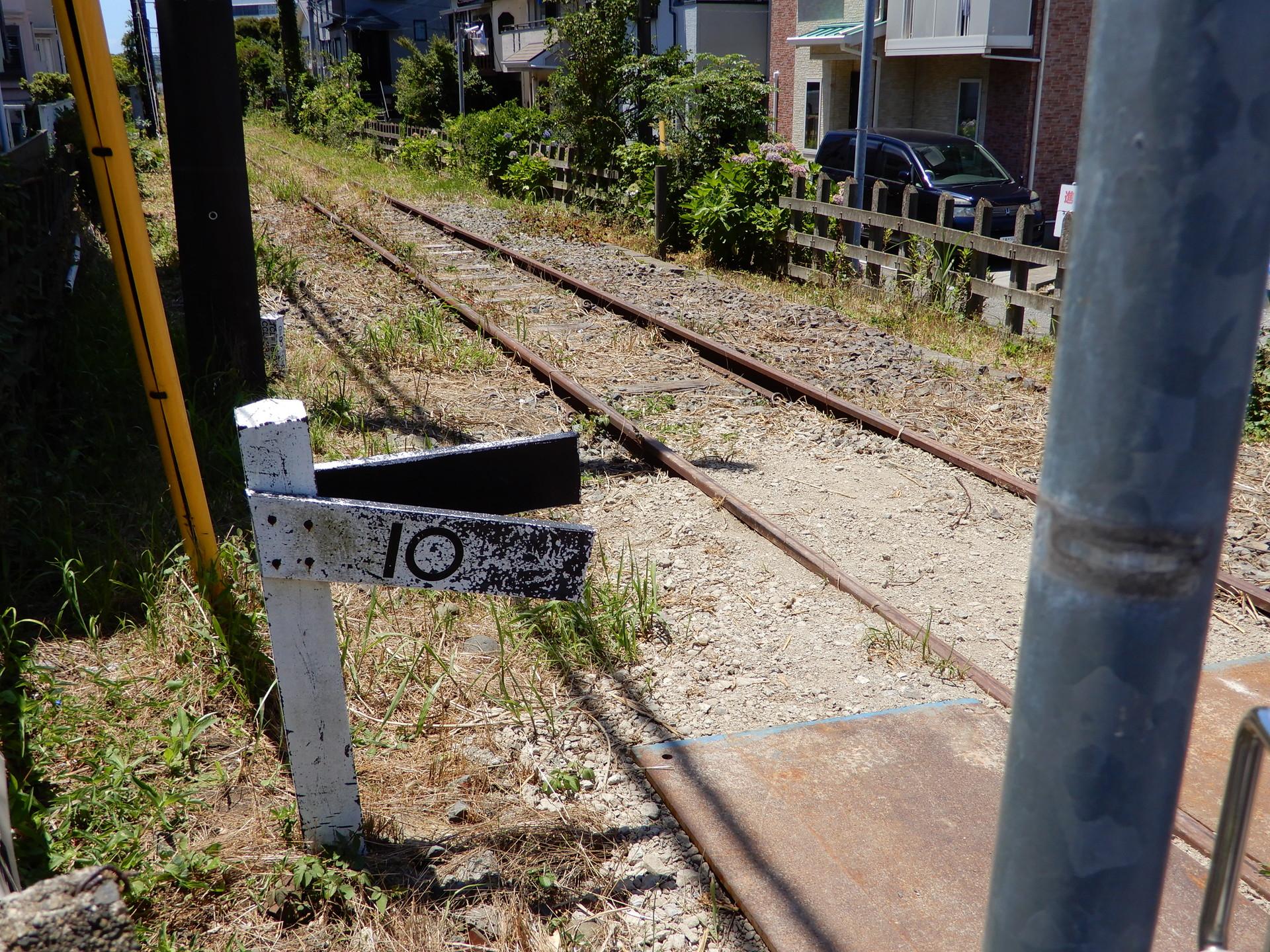 妙法寺付近の標識
