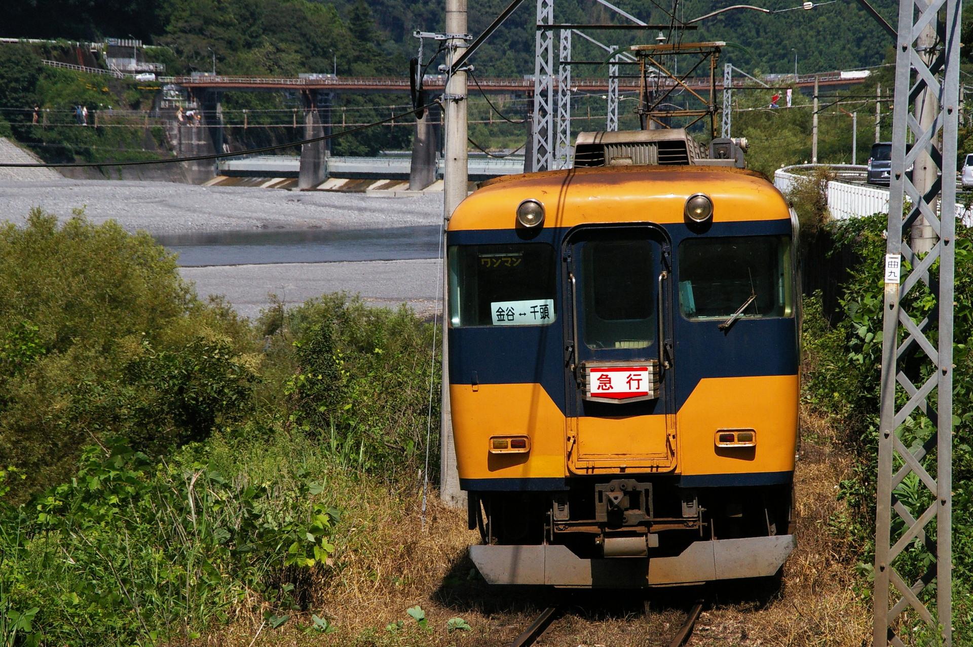 大井川鉄道16000系の素材写真