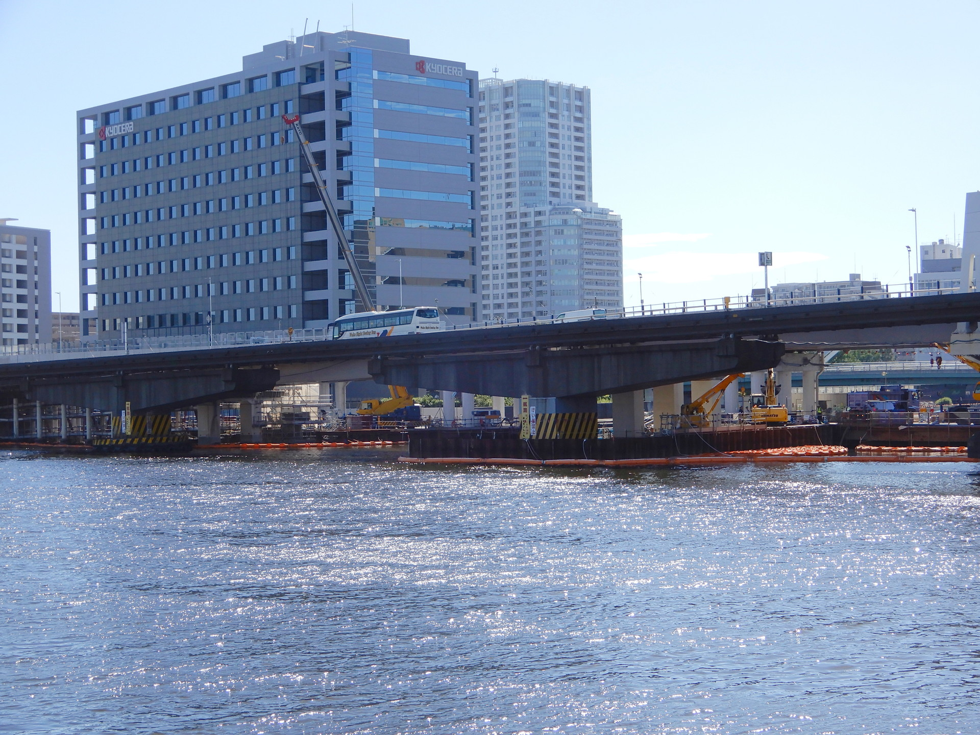 大型のT字型橋脚