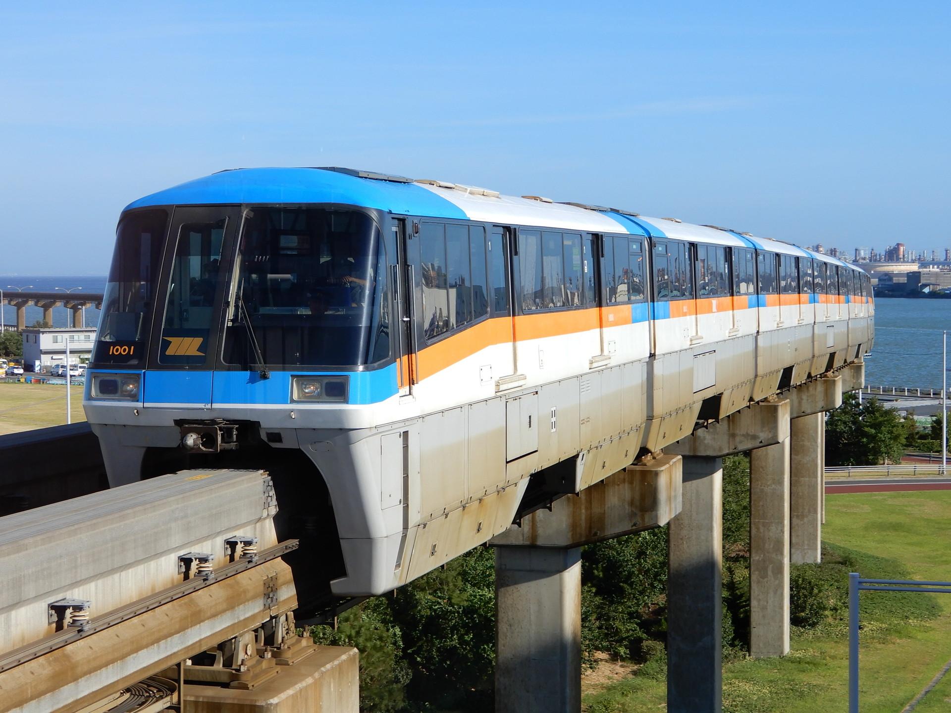 東京モノレール1001F