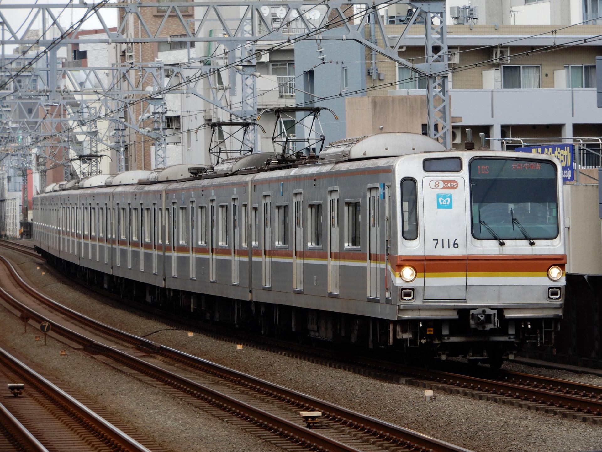 東京メトロ7000系16編成
